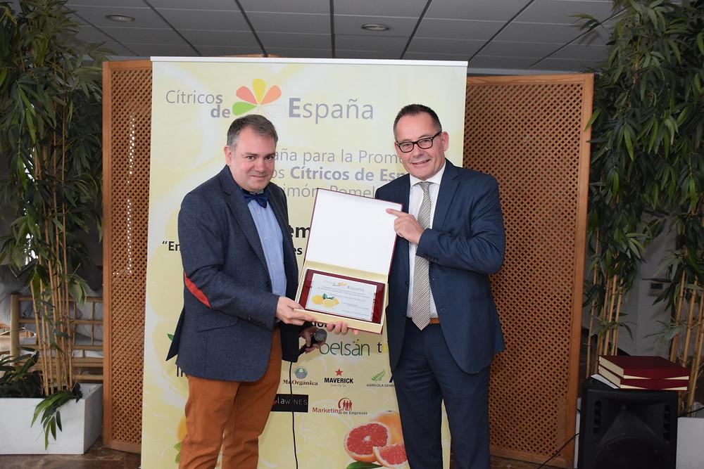 Oliver Huesmann Embajador del Citrico español en Asia / Oliver Huesmann Botschafter der spanischen Citrusproduzenten in Asien