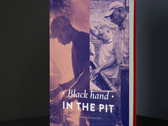 Approaching the Black Hand in the Pit Coffee Table Book Finish Line 2021