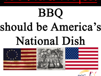 BBQ should be America's National Dish