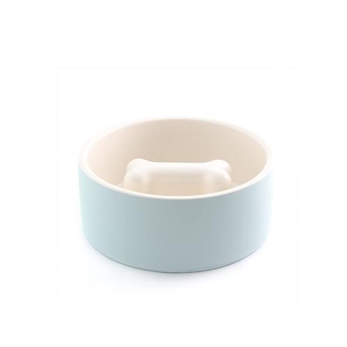 Magisso Cooling Slow Feed Bowl Blue - Medium
