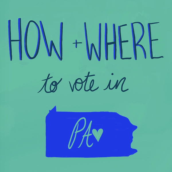 How and Where to Vote In PA