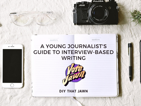 What's Your Jawn?: A Young Journalist's Guide to Interview-Based Writing