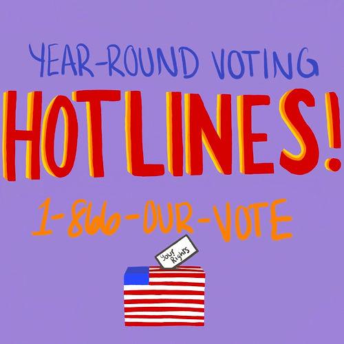 Voting Hotlines
