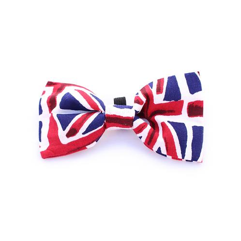 Pet Pooch Boutique Union Jack Bow Tie