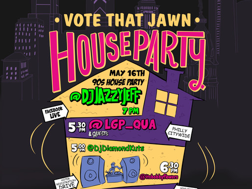 Philly Youth Vote (Online) Registration House Party!