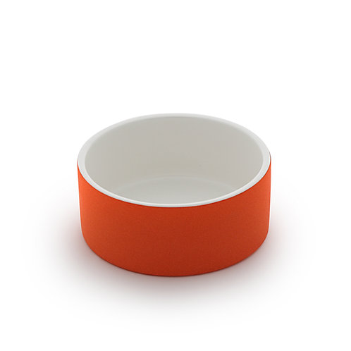 Magisso Cooling Water Bowl Orange - Medium