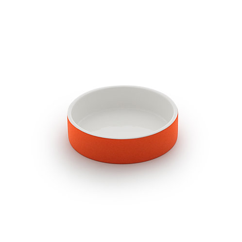 Magisso Cooling Water Bowl Orange - Small