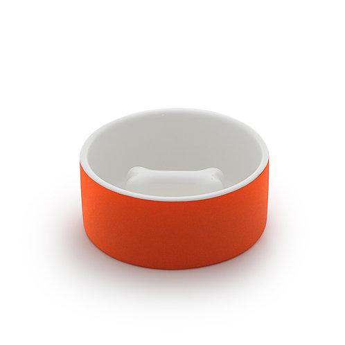 Magisso Cooling Slow Feed Bowl Orange - Medium