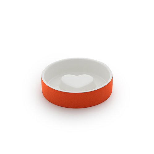 Magisso Cooling Slow Feed Bowl Orange - Small
