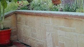 Verblender Gartenmauer