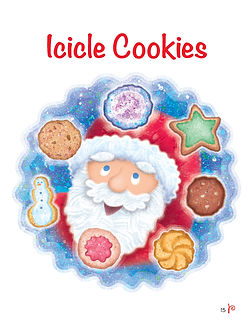 Icicle Cookies Title Page_April Hartmann