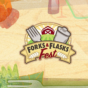 Forks and Flasks Fest_cover art_April Ha