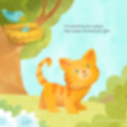 """""""My Happy Place"""" by April Hartmann. Follow along as little kitten searches for a place thatfeels just right. Along the way he sees many other animals in their homes. Can happiness be found in a place? Or is it a feeling to be broughtwherever you go?"""