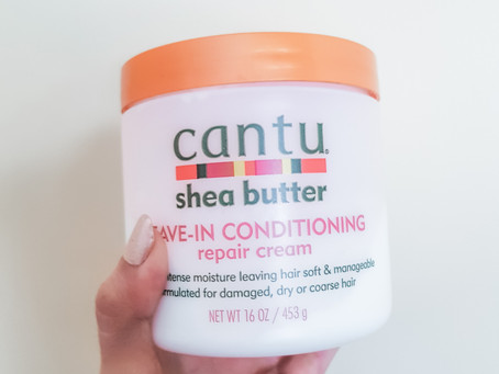 Product Review: Cantu Leave-in Conditioning reapair cream