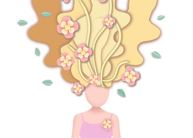 —Pngtree—creative female hair spring pap