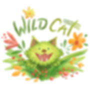 """""""Wild Cat"""" - by April Hartmann - Unbridled enthusiasm at its best. And worst. This nature loving, meditating, vegetarian is available for publication. Please contact!"""
