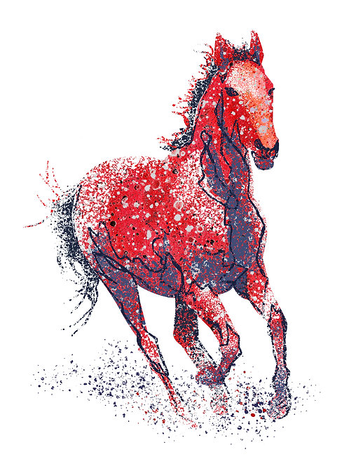 Red Rock Horse