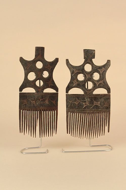Hand-Carved African Combs | SOLD