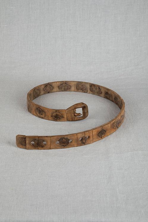Olive Wood Belt