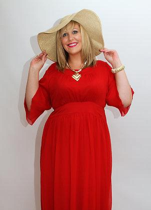 Eddie Red Dress