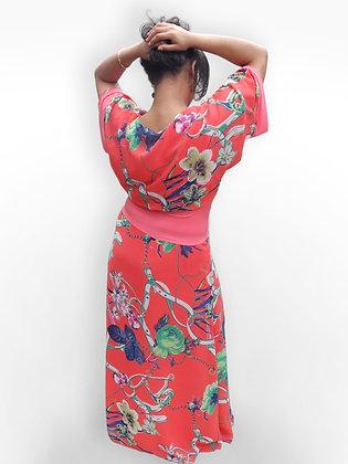 'Alexia' Coral Dress
