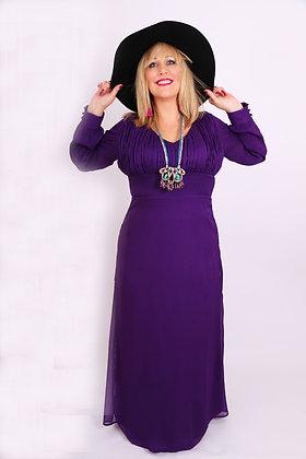 Charlie Dress in Purple