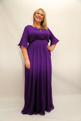 Eddie Purple Dress