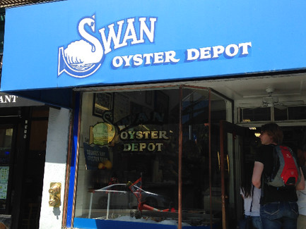 The Swann Oyster Depot Experience of Today