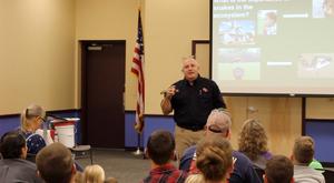 Venom Response Team teaching children
