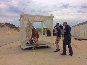making of camerawork NTR shoot leader klassiek viert de zomer