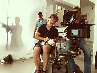 behind the scenes feature film sunset contract dop focus puller