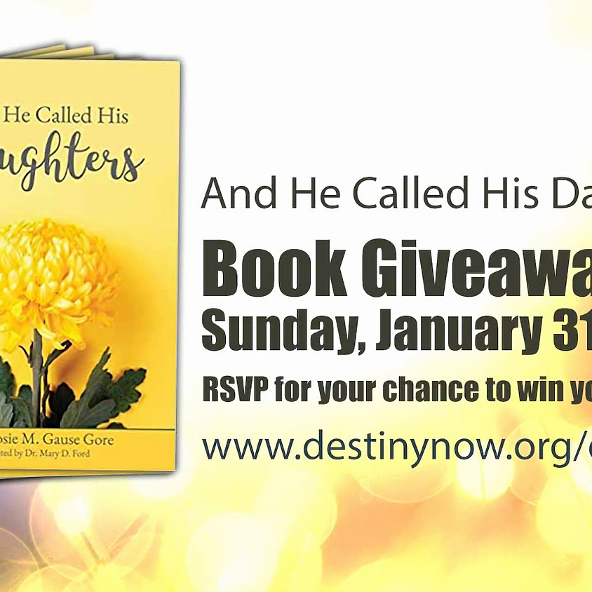 Book Giveaway - And He Called His Daughters