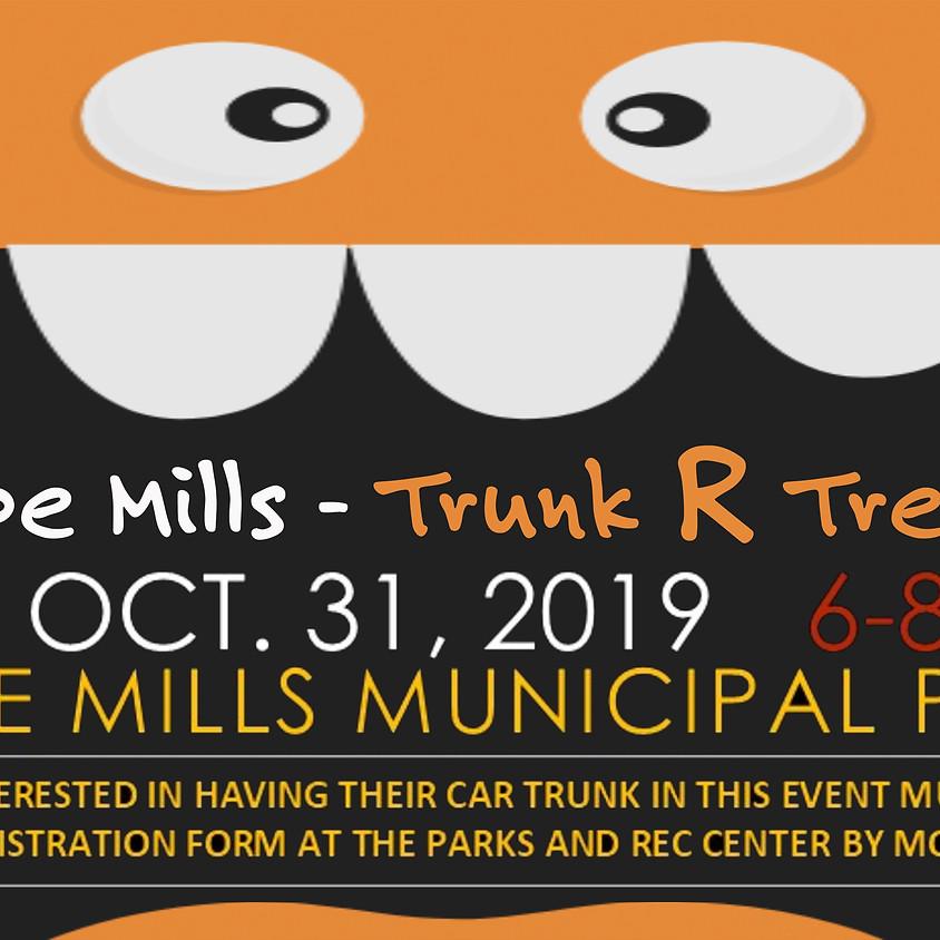 Trunk R Treat - Hope Mills