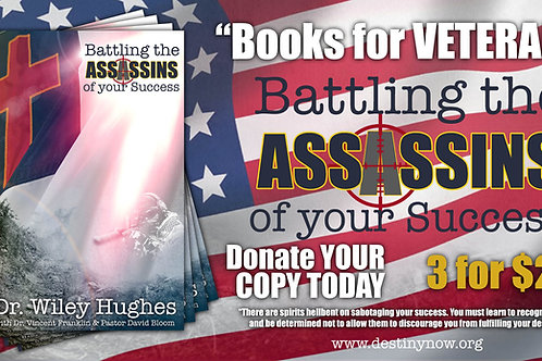 3 for $25 - BOOKS FOR VETERANS