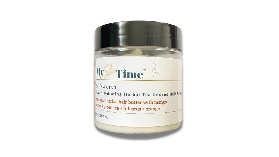 Self-Worth Green Tea & Hibiscus Infused Hair Butter