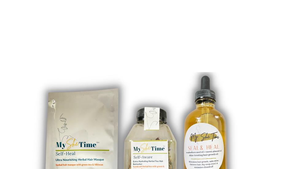 Green Tea & Hibiscus Hair Repair Collection