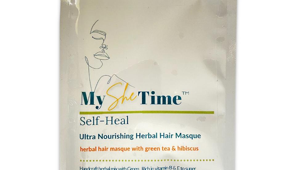 Self-Heal Green & Hibiscus Hair Masque