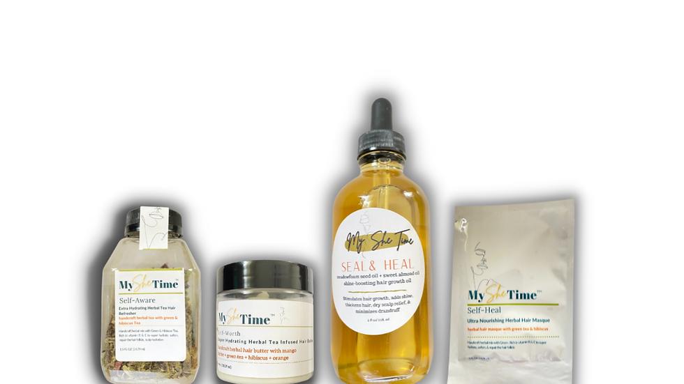 Green Tea & Hibiscus Self Herbal Collection Bundle