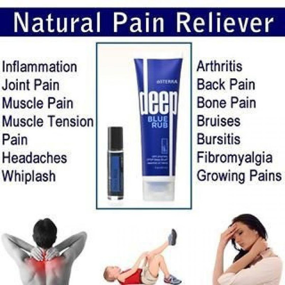 Pain relief and essential oils