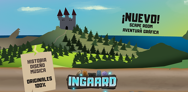 Ingaard nuevo Escape Room online