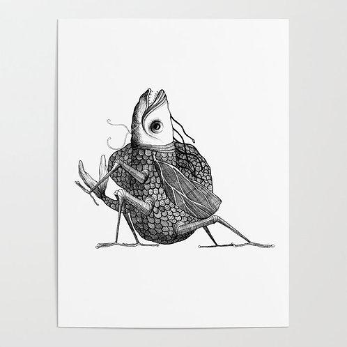 """Risografía """"Insecto"""""""