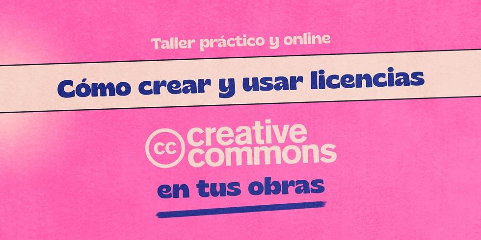 Cómo crear y usar licencias CC