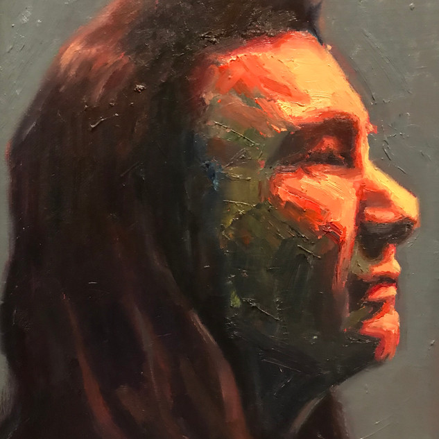 Chief Joseph Side Portrait