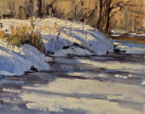 March Snowbank 8x10