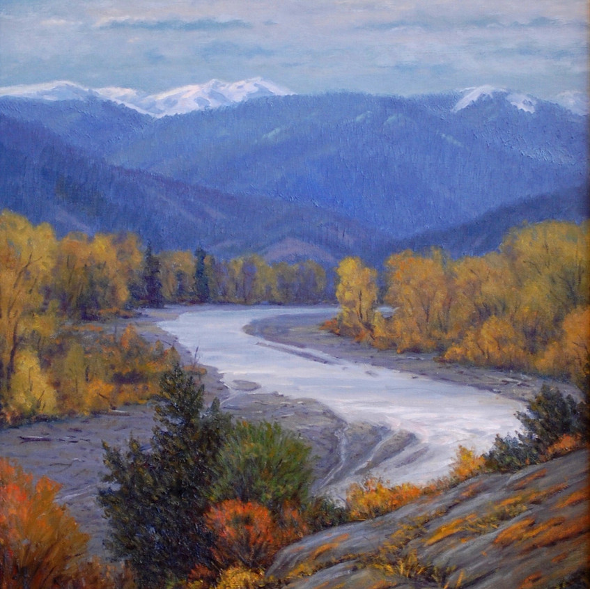Changing Seasons (Gallatin River)