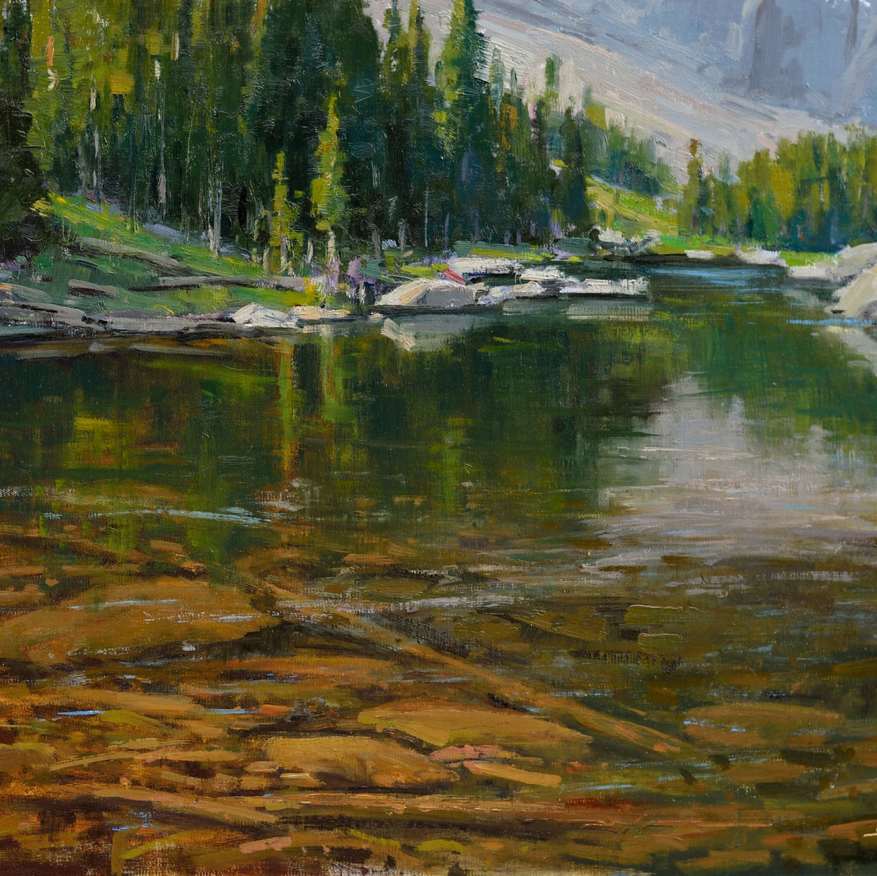 Silent reflections 16_ x 20_, Oil