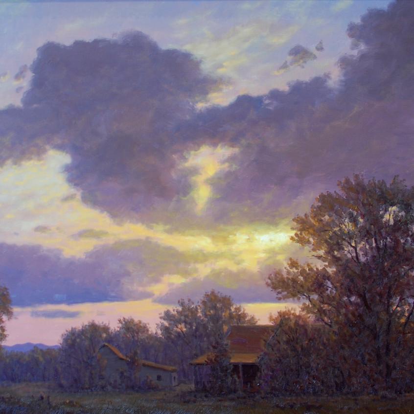 River Bottom Sunset
