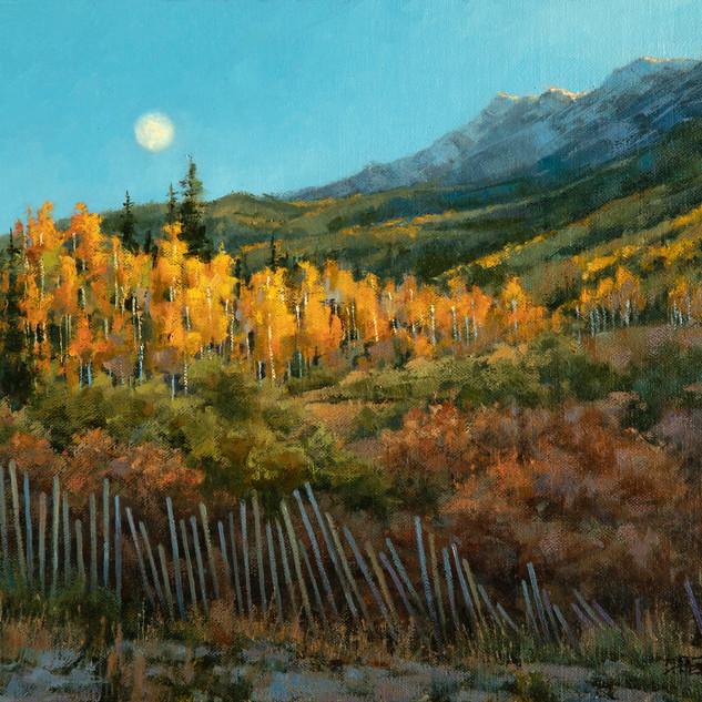 Tattered 'Neath an Autumn Moon