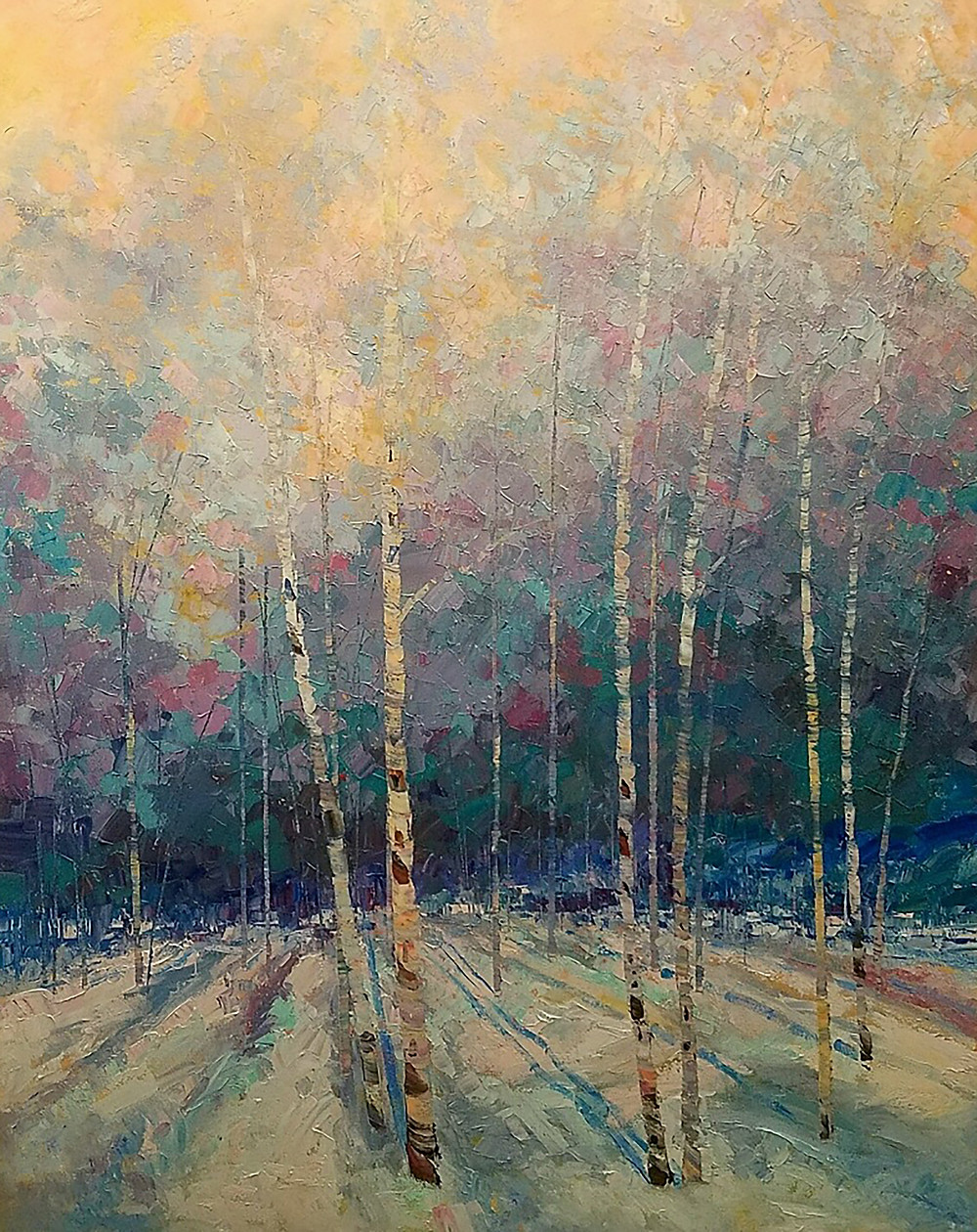 Promised Light 60 x 48 inches