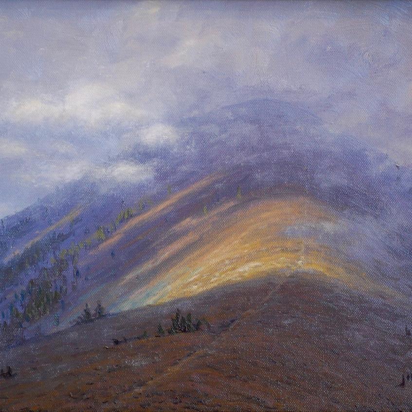 In the Clouds- Bridger Ridge Trail